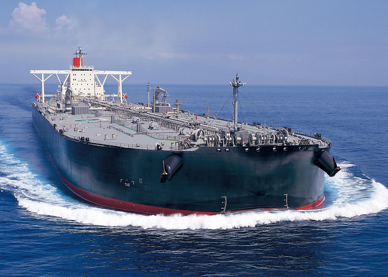 Tanker Arriving