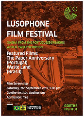 Lusophone Film Fest Nairobi - 12th Edition