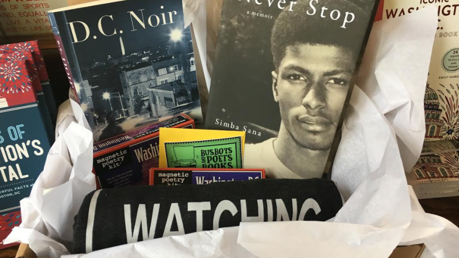 "The ""DC Love"" Giftbox available at Busboys and Poets"