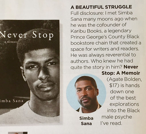 Simba Sana featured in Essence Magazine