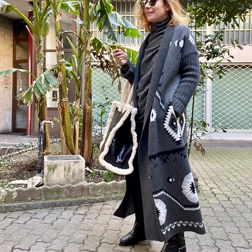 Cappotto di maglia