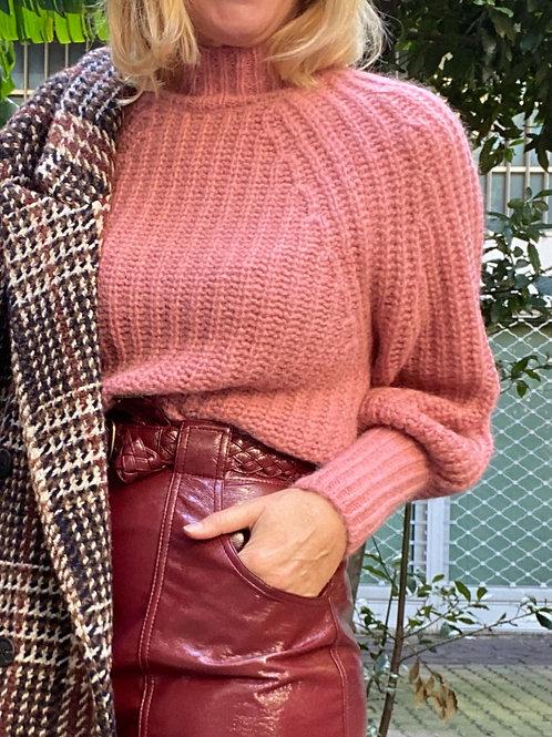 Maglia a lupetto in lana e cashmere PESERICO