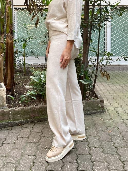 Pantalone tuta in lana misto cashmere PESERICO