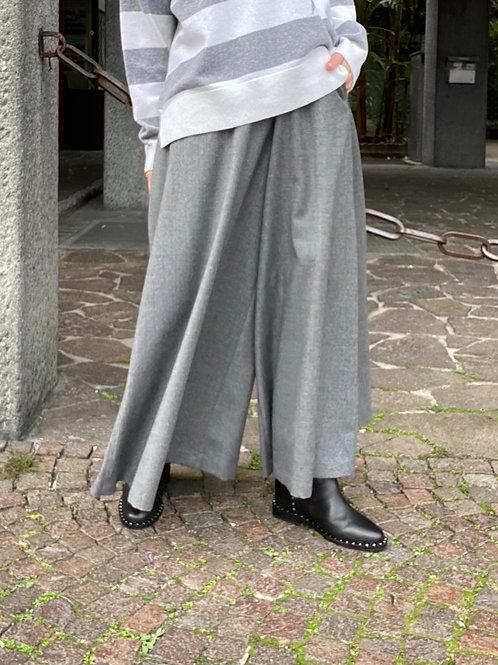 Gonna pantalone in flanella e cashmere VIA MASINI 80