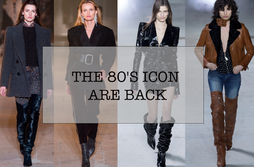 THE 80s ICON ARE BACK