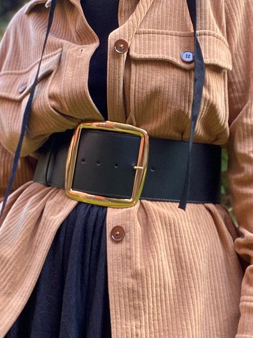 Cintura bustie con maxi fibia dorata ELISABBETTA FRANCHI