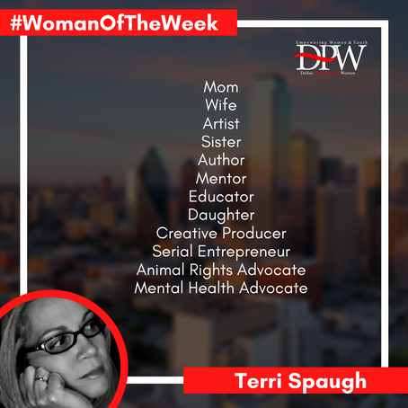 Getting to Know Our #WomanOfTheWeek Terri Spaugh