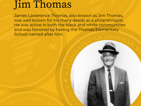 "James ""Mr. Jim"" Lawrence Thomas"
