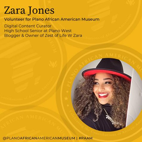 Zara Jones