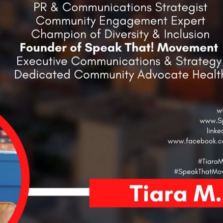 Tiara M. Tucker Inspires Us to Proudly Wear Our Tiaras to Every Table!