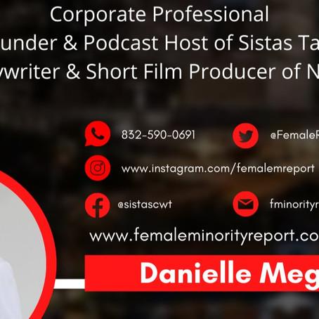 Danielle Meggoe Author & Advocate for Diversity, Inclusion & Equity Joins the DPW Ambassador Team!