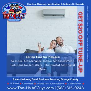 Call The HVAC Guys us today!