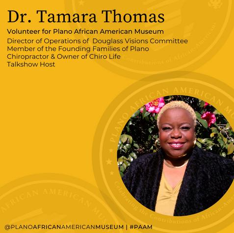 Dr. Tamara Thomas