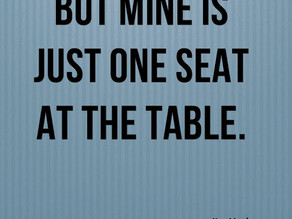 The Empty Seat at The Table