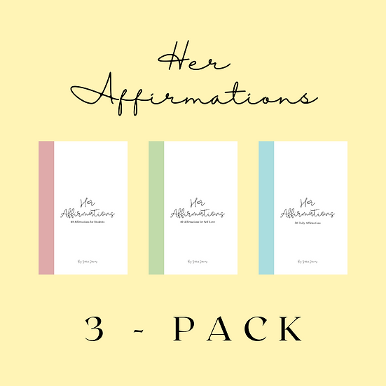 Her Affirmations 3-Pack