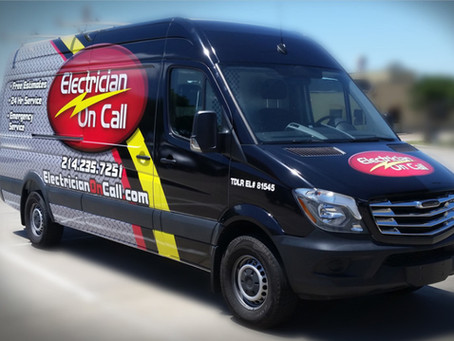 On Call Service Pros Network Awards Electrician On Call as Top Electricians in North Texas