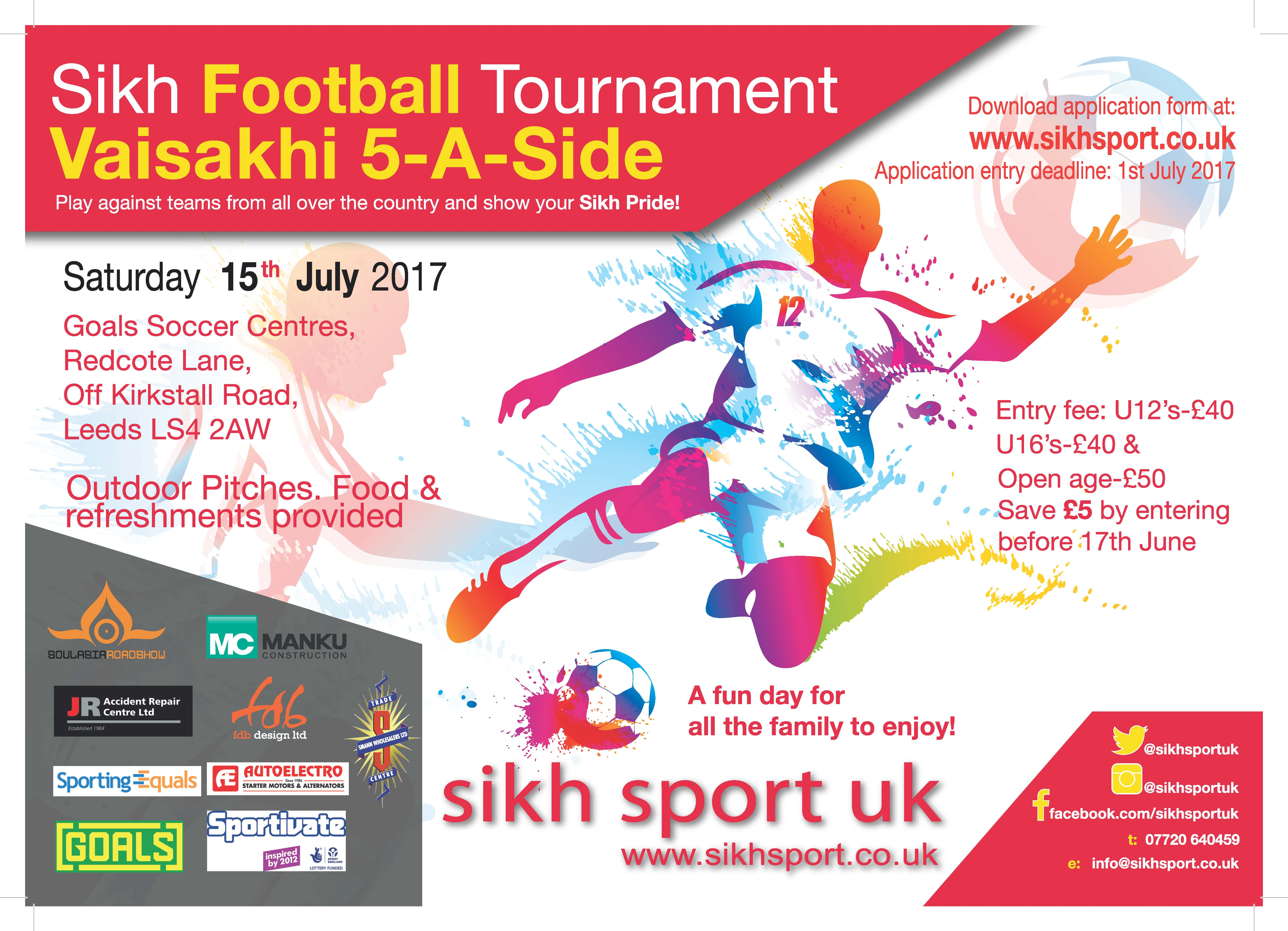 Vaisakhi 2017 Tournament