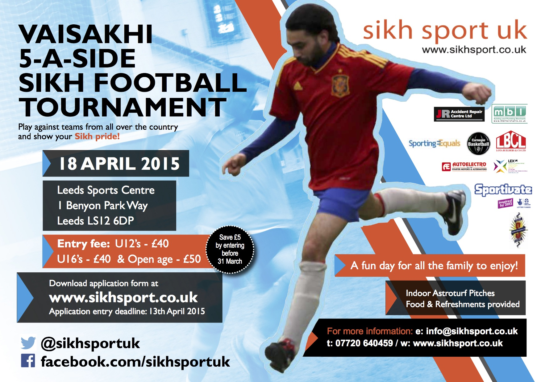 Vaisakhi 2015 Tournament