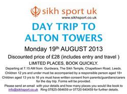 Alton Towers 2013