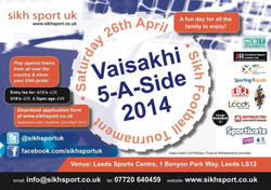 Vaisakhi 2014 Tournament