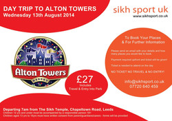 Alton Towers 2014