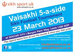Vaisakhi Tournament 2013