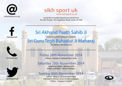 SSUK Akhand Path 2014