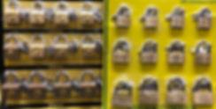 Навесные маленькие замочки для чемоданов