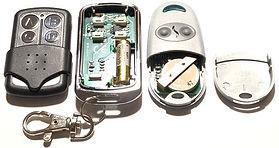 Замена батареек в пультах для ворот и шл