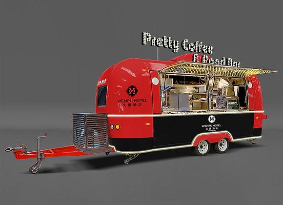 Airstream food trailer