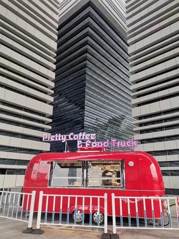 Premium food trailer
