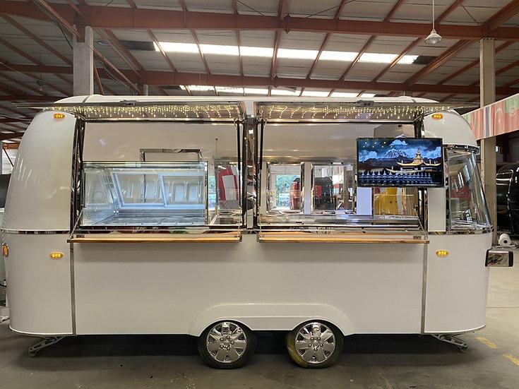 Airstream icecream trailer