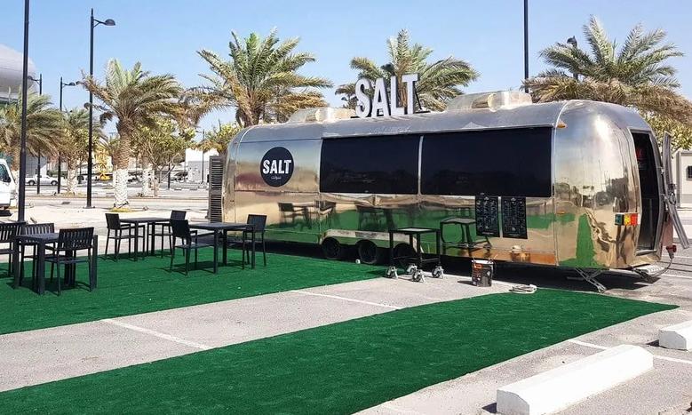 food trailer stainless steel