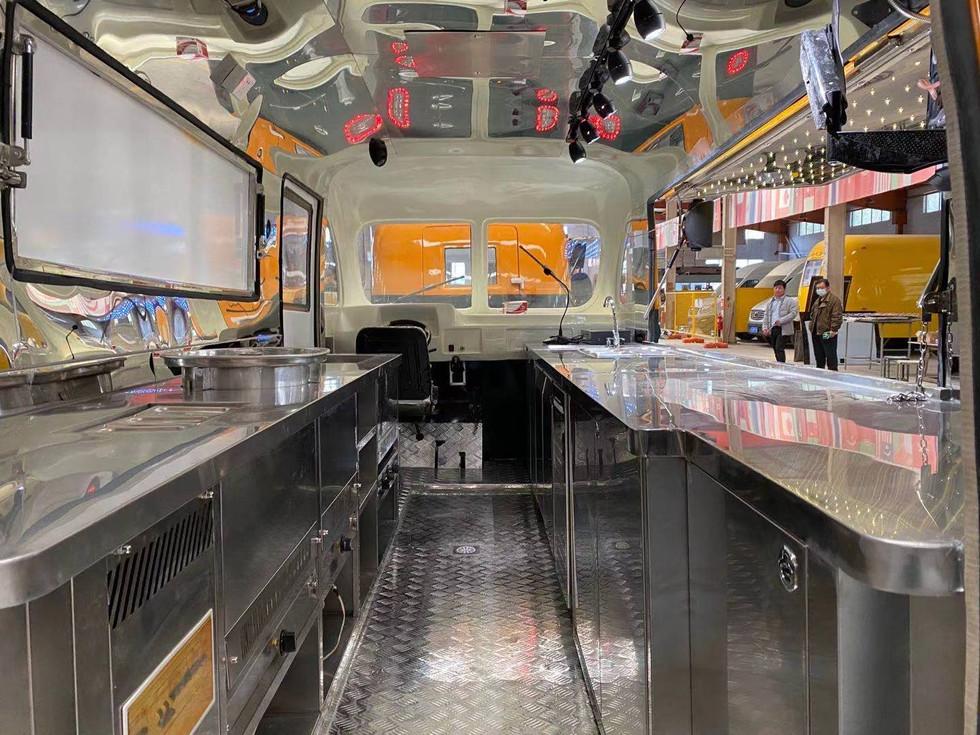 retro food truck inside layout