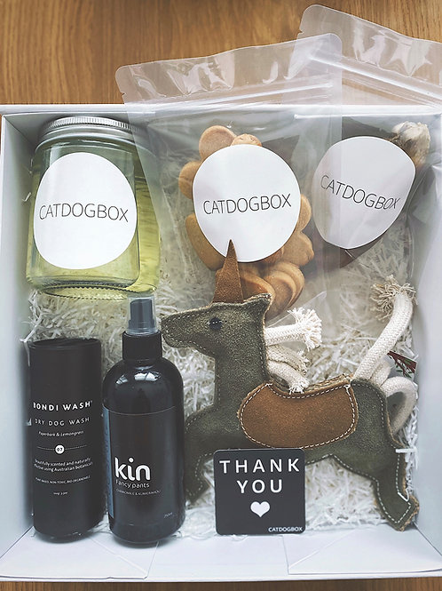 DogBox - A hand crafted Dog gift box