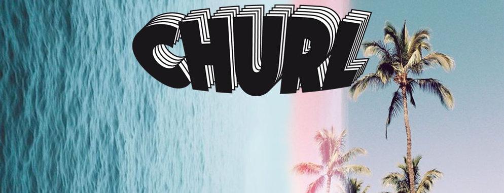 churl logo noir et blanc version duplicate home page website
