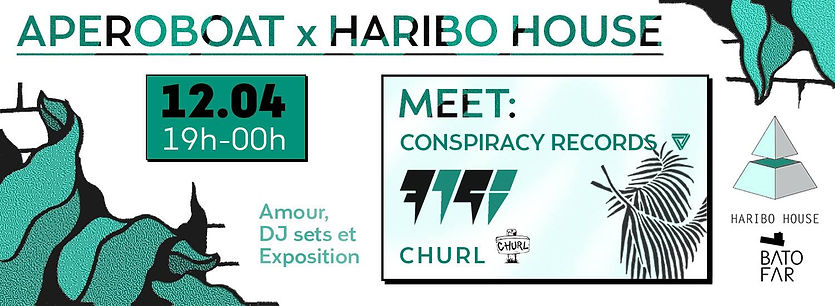 Aperoboat Event Churl Haribo House