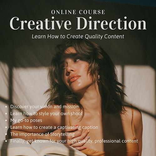 Instagram IRL | Creative Direction Online Course