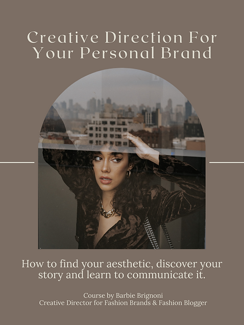 Creative Direction For Your Personal Brand
