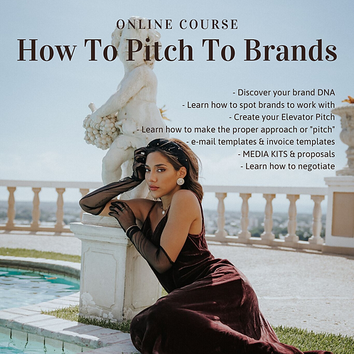 Instagram IRL | How To Pitch To Brands