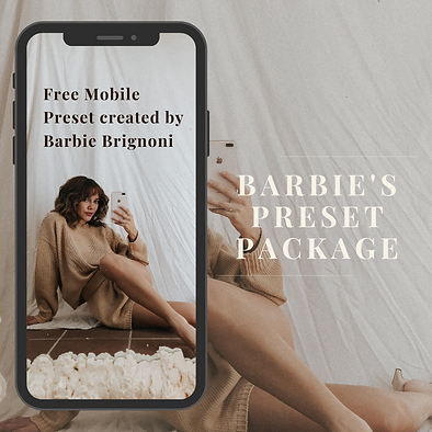Barbie Free Mobile Preset | LATTE