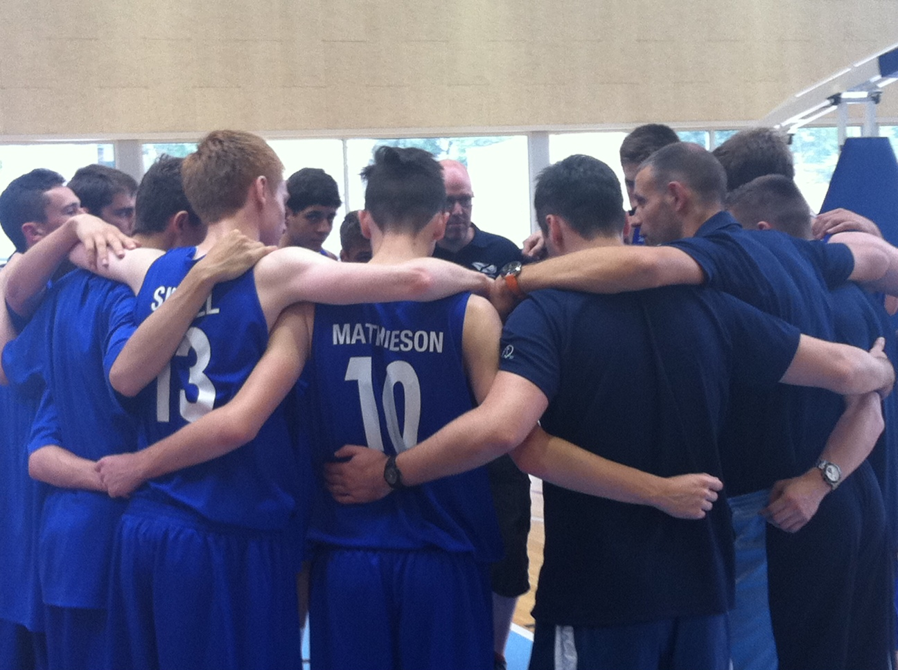 U16 Men Pre-FIBA Training Camp 2014