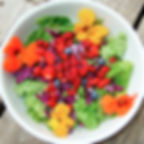 bowl of fruits and vegetables