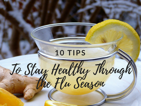 10 Tips to Stay Healthy through the Flu Season