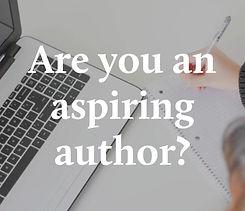 Are you an aspiring author?