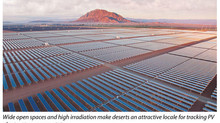 Engineering Turns Trackless Desert Into Tracking PV Powerhouses