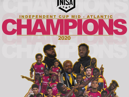 Maryland Bobcats FC Win 2020 NISA Independent Cup Mid-Atlantic Region