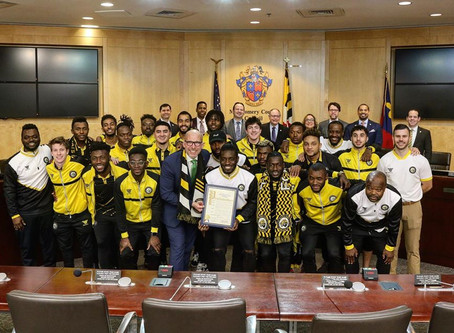 Maryland Bobcats F.C. Honored by Montgomery County Council