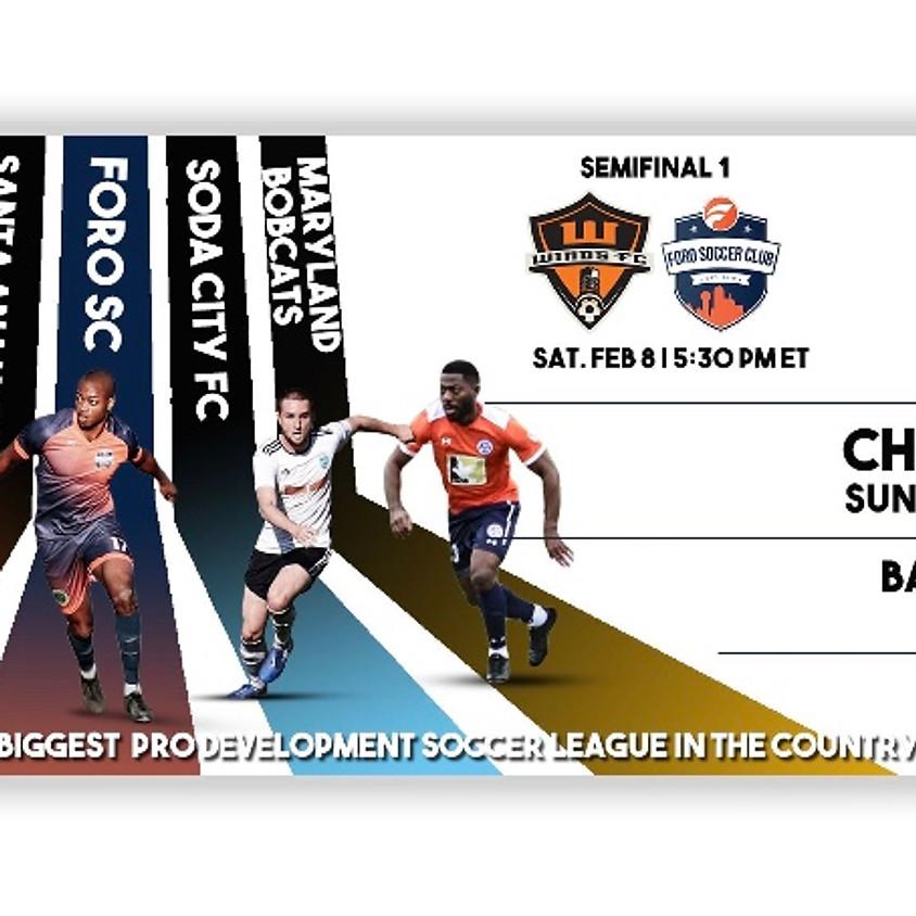 UPSL National Semi-Final: Maryland Bobcats FC vs. Soda City FC
