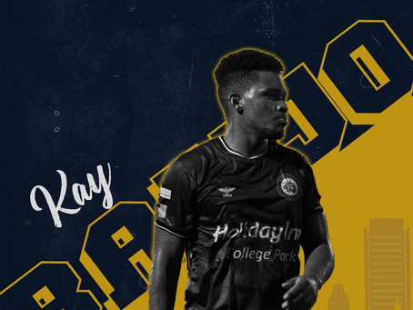 Maryland Bobcats FC Sign Forward Kay Banjo as First Professional Signing In Club History